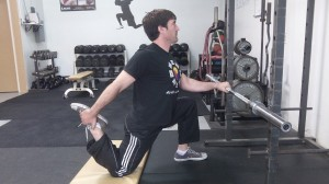 Hip Flex and Quads Stretch