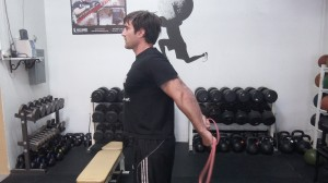 Shoulder Extension Stretch